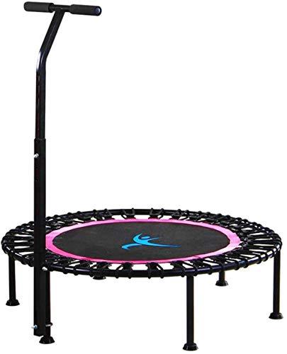 Qilo Plegable Cama elástica Ajustable con Baranda, Yoga Bungee Rebounder for Adultos y Niños, Ronda Interior/Exterior Ejercicio aeróbico Trampolín Mejor Equipo de la Aptitud