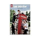 Poster mit Musiksängerin One Direction, Harry Styles,