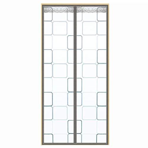 JTSYUXN Cortina Termica Aislante,Protector de Puerta Magnético,Panel de Protección,para Pasillos/Puertas (Color : B, Size : 110 * 210cm)