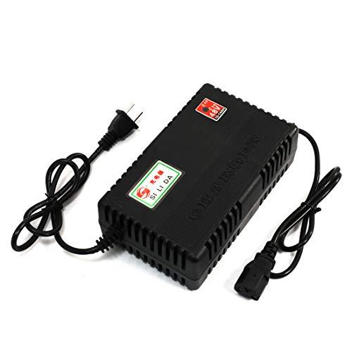 Aexit US-Stecker AC 220V nach IEC320 C13 Elektro-Fahrrad 48V10-14AH Akku-Ladegerät (039be95eac204b42140484dda44b4988)