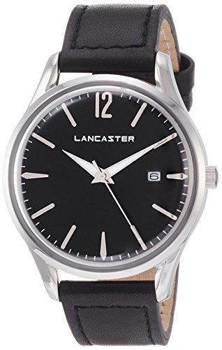 "Lancaster Paris ""Heritage"" Armbanduhr schwarz Damen"