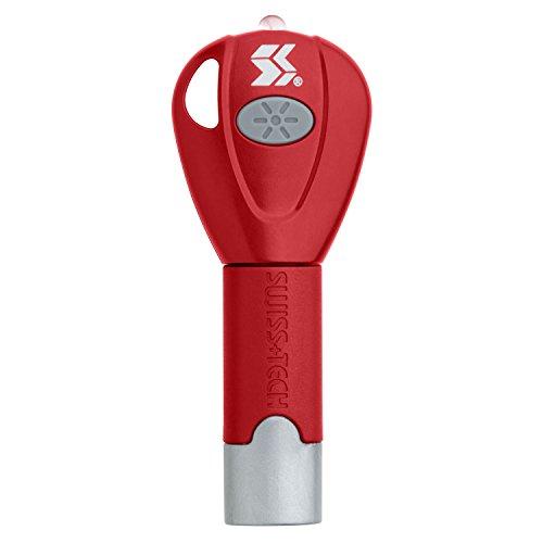 Swiss tech mobile-tech clé uSB cable-leuchtung pour rouge-uSBCBRD de potasse