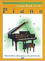 Piano or Keyboard: Alfred's Basic Piano Library Lesboek Niveau 3