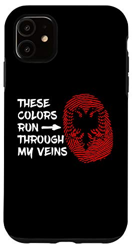 iPhone 11 Albania Heritage Albanian Roots Case
