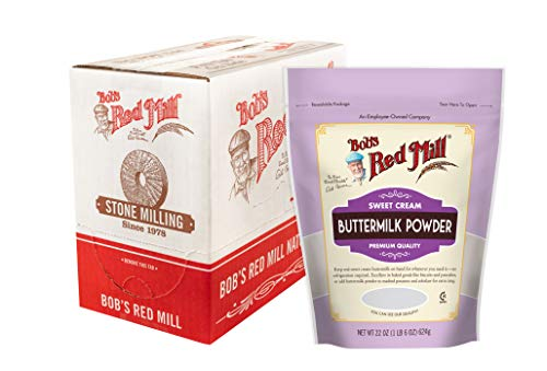 Bob's Red Mill Sweet Cream Buttermilk Milk Powder, 22-ounce (Pack of 4)