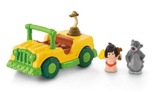Little People Disney The Jungle Book Tiki Truck by Fisher-Price