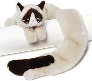 "54"" Extra Soft and Silky Grumpy Cat Plush Stuffed Animal Novelty Scarf"