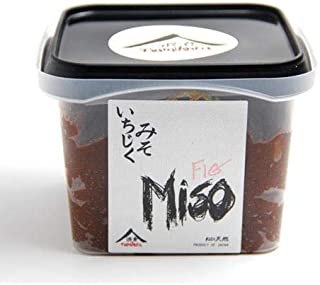Fig Miso - Dark Brown - Aged 3 Months by Namikura Miso Co. (17.6 ounce)