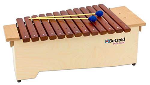 Betzold Musik 9945 - Alt-Xylophon - Klangstäbe aus Hartholz, voller Klang, leicht und handlich