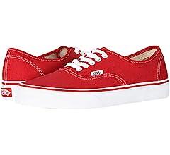 plain red vans
