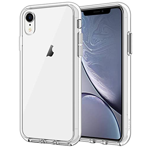 """JETech Funda Compatible iPhone XR 6,1"""", Carcasa Absorción de Impacto (Transparente)"""
