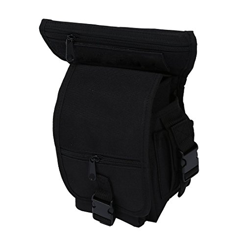 TOOGOO(R) Sac multifonction pack porte ceinture cuisse taille jambetaille jambe poche velo camping Randonnee Randonnee sport Randonnee sport chasse airsoft montagne combat 5 couleurs