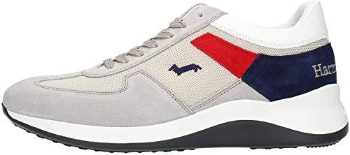 Harmont & Blaine EFM2110606110 - Zapatillas altas para hombre Gris Size: 42 EU