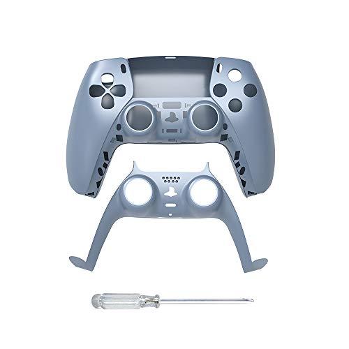 Haloyo Controlador de piel placa frontal para Playstation 5 PS5, DIY Shell tira decorativa para PS5 controlador Dualsense, accesorios de decoración para el panel controlador PS5