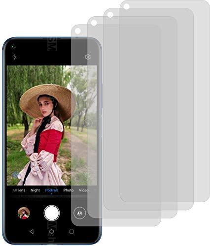 4ProTec I 4X Schutzfolie MATT passexakt für Huawei Nova 5T Bildschirmschutzfolie Displayschutzfolie Schutzhülle Bildschirmschutz Bildschirmfolie Folie