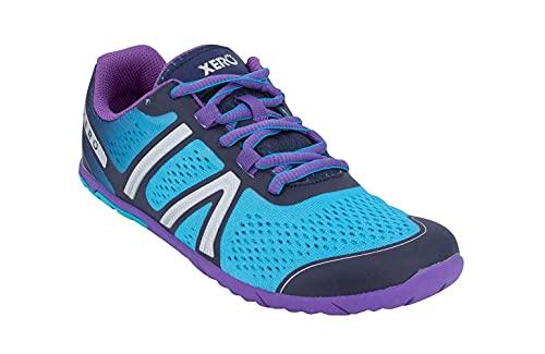 Xero Shoes Women's HFS Running Shoes - Zero Drop, Lightweight & Barefoot Feel, Atoll Blue, 10