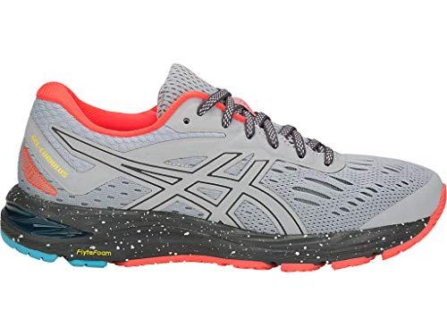 ASICS Women's Gel-Cumulus 20 LE Running Shoes, 7M, MID Grey/Dark Grey
