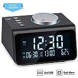 Best Dual Alarm Clocks - Small Digital Alarm Clock Radio - Dual Alarm Review
