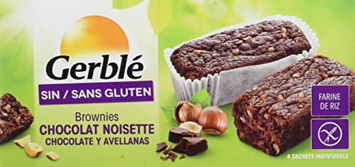 Gerblé Brownies Chocó Noisettes sans Gluten 150 g