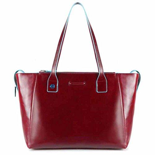 Piquadro Blue Square shopping bag con scomparto porta iPad®Air/Pro 9,7 - BD3883B2 (Rosso)