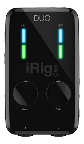 3. IK Multimedia iRig PRO DUO 2 channel professional audio interface for iPhone, iPad and Mac/PC