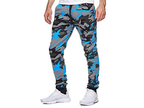 Herren Männer Jogger Modern Jogginghose Trainingshose Sporthose Fitness Hose Jogger Streetwear Freizeithose