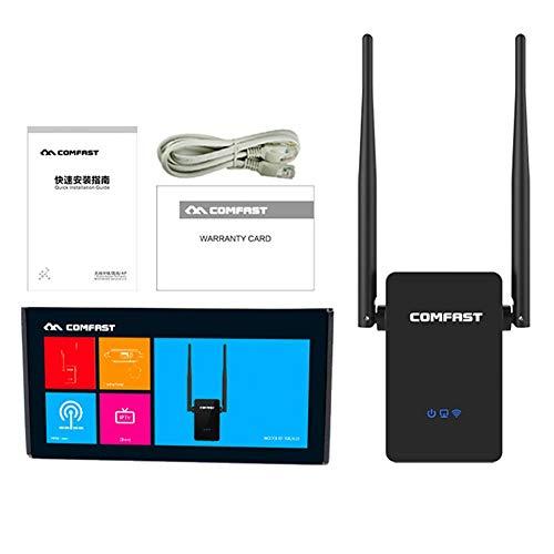 iBellete Amplificador de señal de Antena de repetidor de WiFi Amplificador de enrutador Amplificador de Punto de Acceso de repetidor inalámbrico de Alta Velocidad 5dBi, para Comfast CF-WR302S 300M