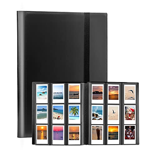 432 Pockets Photo Album for Fujifilm Instax Mini Camera, Polaroid Camera, for Fujifilm Instax Mini 11 90 70 9 8+ 8 LiPlay Instant Camera, Polaroid Snap SnapTouch PIC-300 Z2300 Instant Camera (Black)