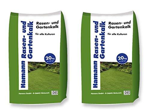 Hamann Rasen- und Gartenkalk 40 kg