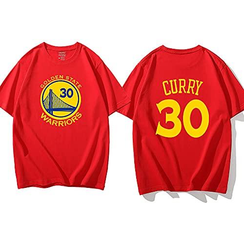 Camiseta De Baloncesto Stephen Curry, Traje De Entrenamiento De Baloncesto, Camiseta para Hombre, Golden State Warriors, Adecuada para Primavera, Verano, Otoño E Invierno,C-M