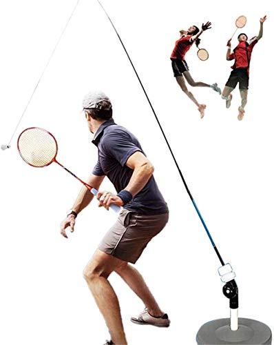 SNRIQ Rebound Badminton-Trainingshilfe, Rebound-Übungs-Set, Neuheit, Badminton-Übungsball, Trainingsübung für Kinder/Erwachsene/Solo Praxis