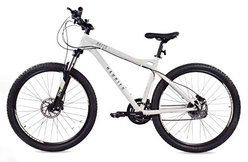 Basis Harrier Hydro Mens Hardtail Mountain Bike, 27.5' Wheel, Hydraulic Disc Brakes - Gloss Grey (20' Frame)