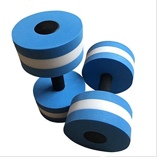 FJROnline, 2 manubri Aqua Floatation, bilancieri per esercizi di fitness per acqua aerobica