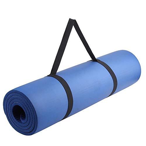 KJBGS Accesorios de Fitness Alfombra de Yoga 1730x610x4mm Mat de Aptitud sin Sabor tapete de Fitness Antideslizante Estera de Ejercicios Mat de Ejercicios Yoga Deportes Fitness Conveniente y Duradero