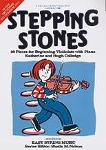 STEPPING STONES - geregeld voor viool - piano [noten/sheetmusic] componist : COLLEDGE CATHERINE + HUGH
