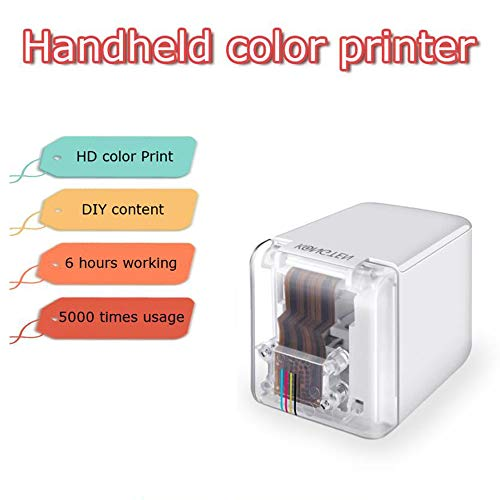 Miniimpresora Portátil De Mano A Color, USB, WiFi, para iOS, Android, Tatuaje, Logo, Inalámbrico, Bluetooth, A4, Impresora De Inyección De Tinta