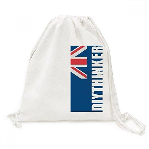DIYthinker Australien Nationalflagge Ozeanien Land Canvas-Rucksack-Reisen Shopping Bags