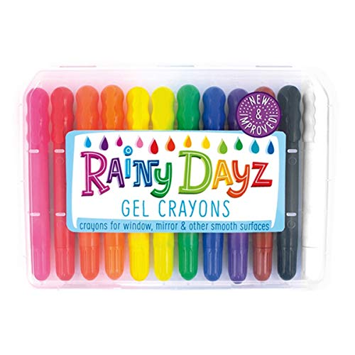 International Arrivals Rainy Dayz Gel Crayons