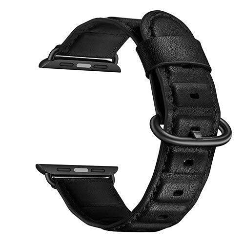 RVTYR Matino - Correa de piel compatible con Apple Band Correa compatible con AppleW 42 mm 38 mm 4 mm 40 mm iwatch Series 5 4 3 2 Pulsera Correa de repuesto