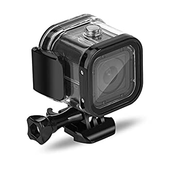 Nechkitter 60m Dive Protective Housing Case for GoPro Hero 5 Session Hero 4 Session Hero Session High Transmission Waterproof Housing Case