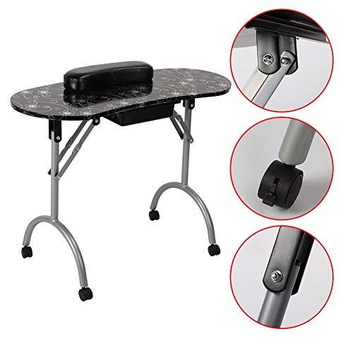 Tavolo Manicure Pieghevole, Silver pattern Tavolo Manicure Professionale...