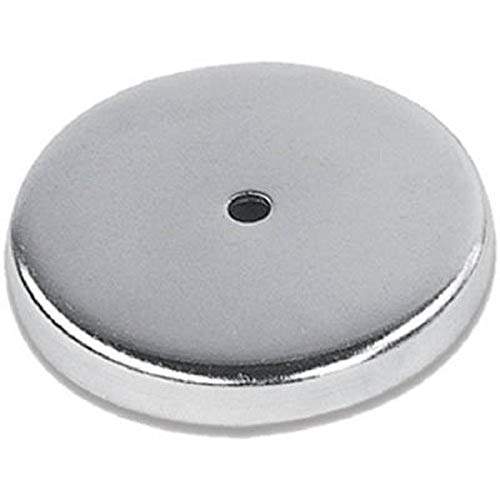 Rundmagnet 67 x 9.5 mm bis 29 kg Power Magnet rund super-stark, verchromt