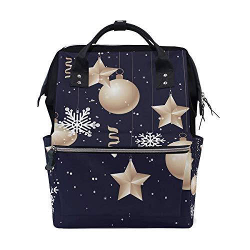 Cartoon Robots Yellow School Backpack Large Capacity Mummy Bags Laptop Handbag Casual Travel Rucksack Satchel for Women Men Adult Teen Children