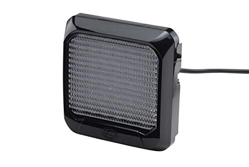Hella 1GA 995 193-021 Arbeitsscheinwerfer - Flat Beam 500 - LED - 12V/24V - 550lm - Anbau - stehend - Nahfeldausleuchtung