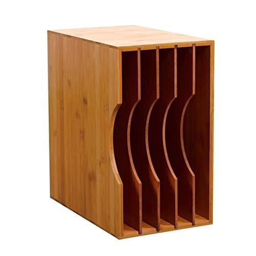 Nai-storage contenitore in legno per esposizione dei dischi in vinile (capienza 40 dischi)