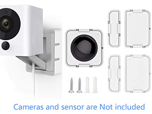 Save %41 Now! Wyze Cam Mount with Wyze Sensors Mounting Kit, Semi-Permanent Solution for Wyze Camera...