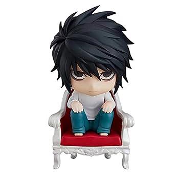 Death Note Figure L·Lawliet Figurines Yagami Light Action Figure Anime Q Version Nendoroid Movable PVC Model Statues Doll  L.Lawliet