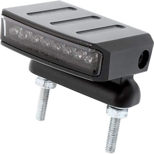 ShinYo LED Metall Rücklicht Move 1 mit schwenkbaren Halter schwarz