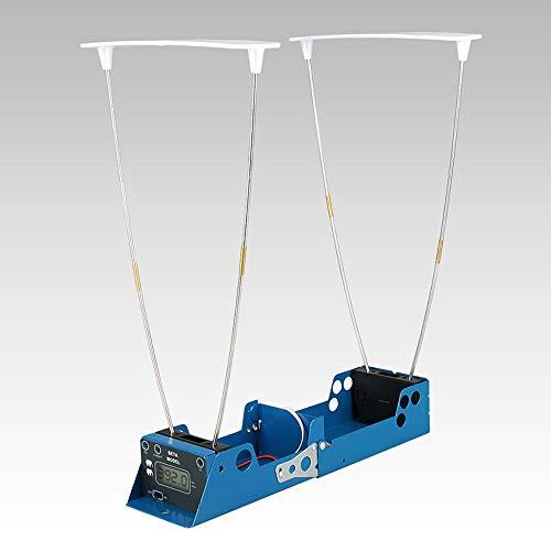 LCD-Anzeige Messgerät Geschossgeschwindigkeitsschießen Hunt Timer Faltbarer Geschwindigkeitstester Geschwindigkeitsmesser mit zwei Sensoren