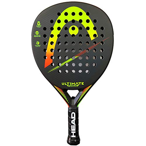 Head Pala de Padel Ultimate Power 2 Yellow/Orange